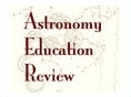 Astronomy Education Review Title Header