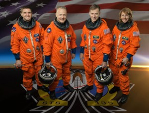 Crew of Atlantis STS-135