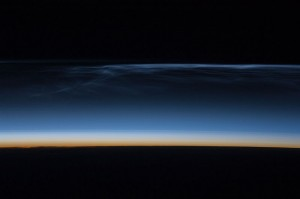Noctilucent Clouds as seen by the ISS