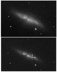 The Supernova 2014J in M82