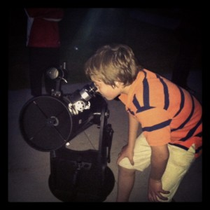 Saturn in the Telescope