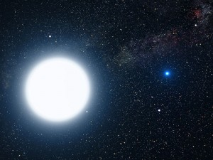 When Sirius joins the Sun in summer, the Dog Days are said to begin. Credit: NASA ESA G. Bacon (STScI)