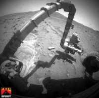 Spirit/Martian surface - NASA