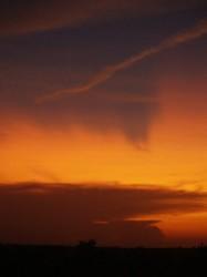 Volcanic Sunset 30Aug2008 - BC