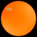 Sunspot1005 - SOHO/MIDI