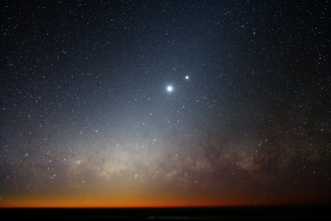 Venus and Jupiter together in 2010