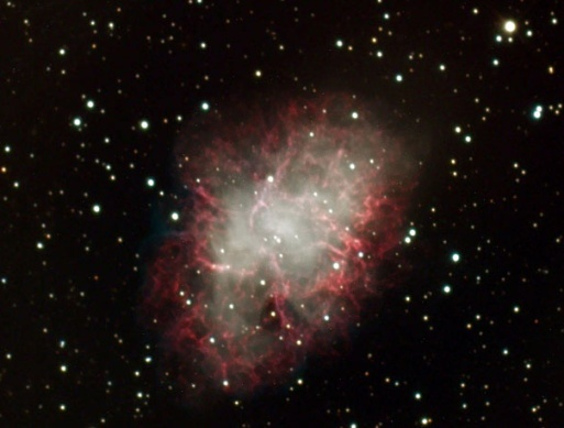 CCD image of Messier Object No. 1