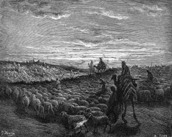 Abraham witnessed eclipse in Canaan