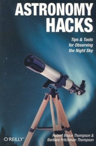 Cover of the book: Astronomy Hacks