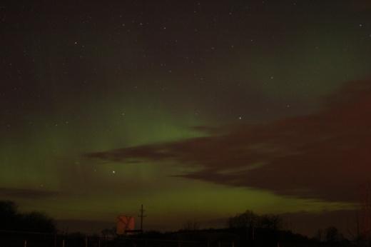 December Aurora (three)