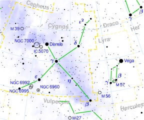 The constellation Cygnus