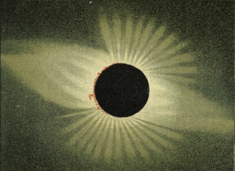 Eclipse on 29 May 1878