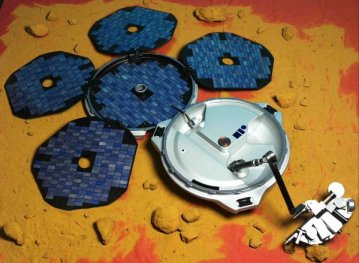 Beagle 2 Lander unfurled