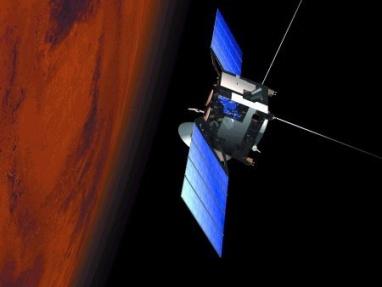 Artist's impression of Mars Express in orbit