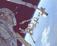 Spacewalk on the Shuttle